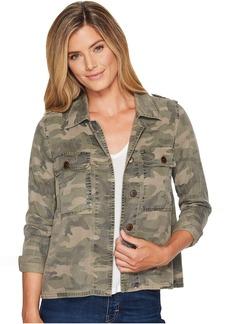 Lucky Brand Camo Shirt Jacket