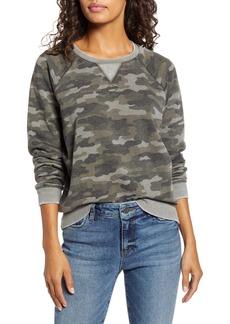 Lucky Brand Camo Sweatshirt