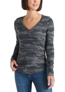 Lucky Brand Camo Thermal Top