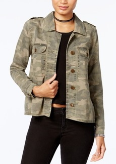 Lucky Brand Camouflage-Print Jacket
