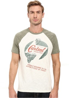 Lucky Brand Castrol Grand Prix Graphic Tee
