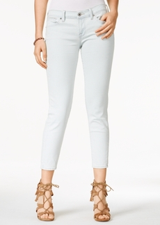 Lucky Brand Charlie Carmel Beach Wash Cropped Jeans