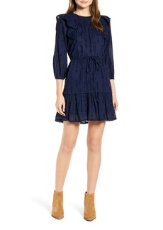 Lucky Brand Charlie Ruffle Cotton Dress