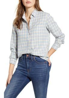 Lucky Brand Check One-Pocket Shirt