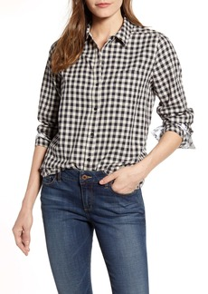 Lucky Brand Check One-Pocket Shirt