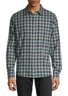 Lucky Brand Checkered Button-Down Shirt
