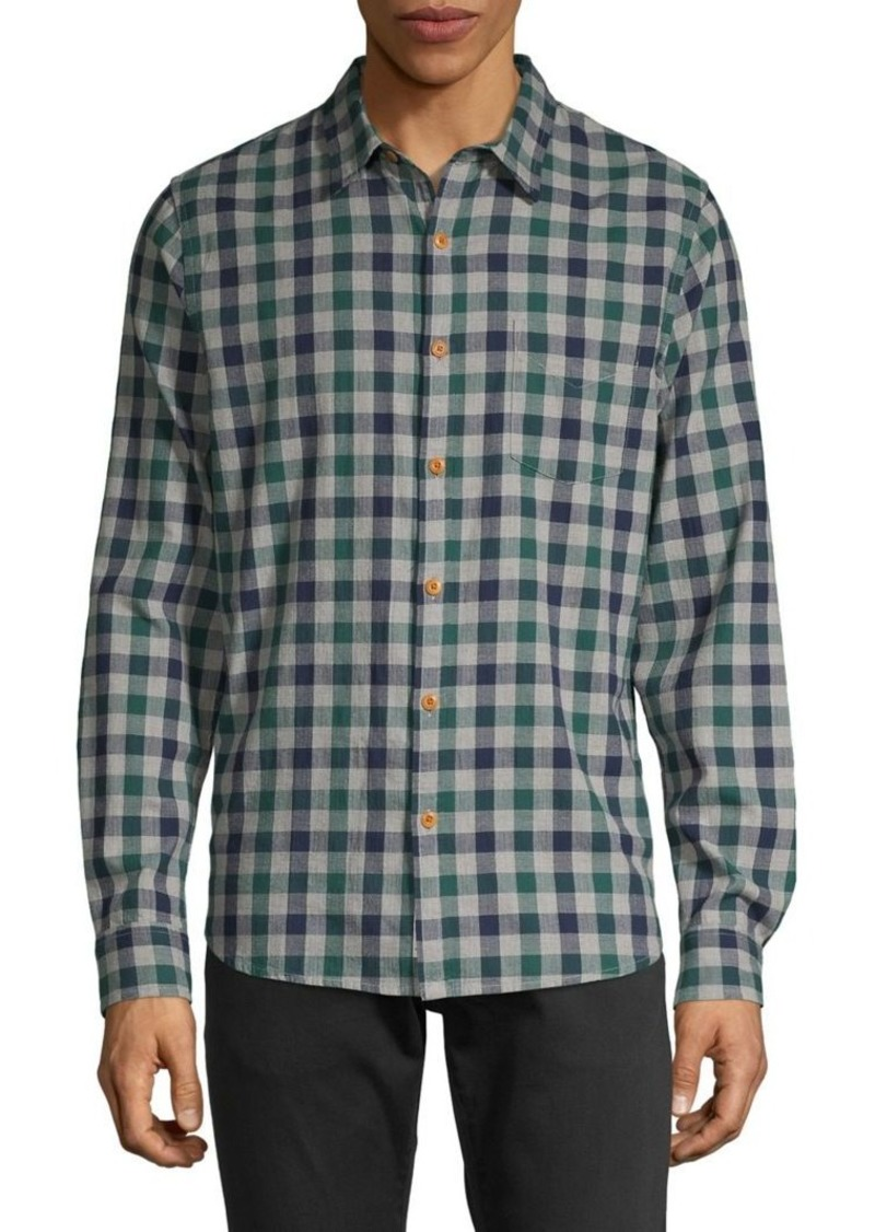 Lucky Brand Checkered Button-Down Shirt
