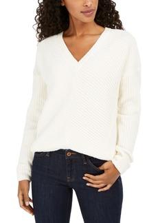 Lucky Brand Chenille V-Neck Sweater