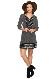 Lucky Brand Chevron Print Maxi Dress