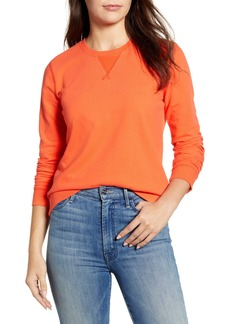 Lucky Brand Classic Crewneck Cotton Sweatshirt