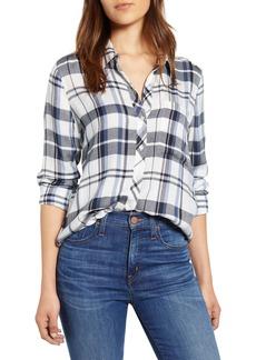 Lucky Brand Classic One-Pocket Plaid Shirt