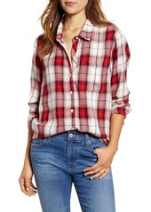 Lucky Brand Classic One-Pocket Plaid Shirt