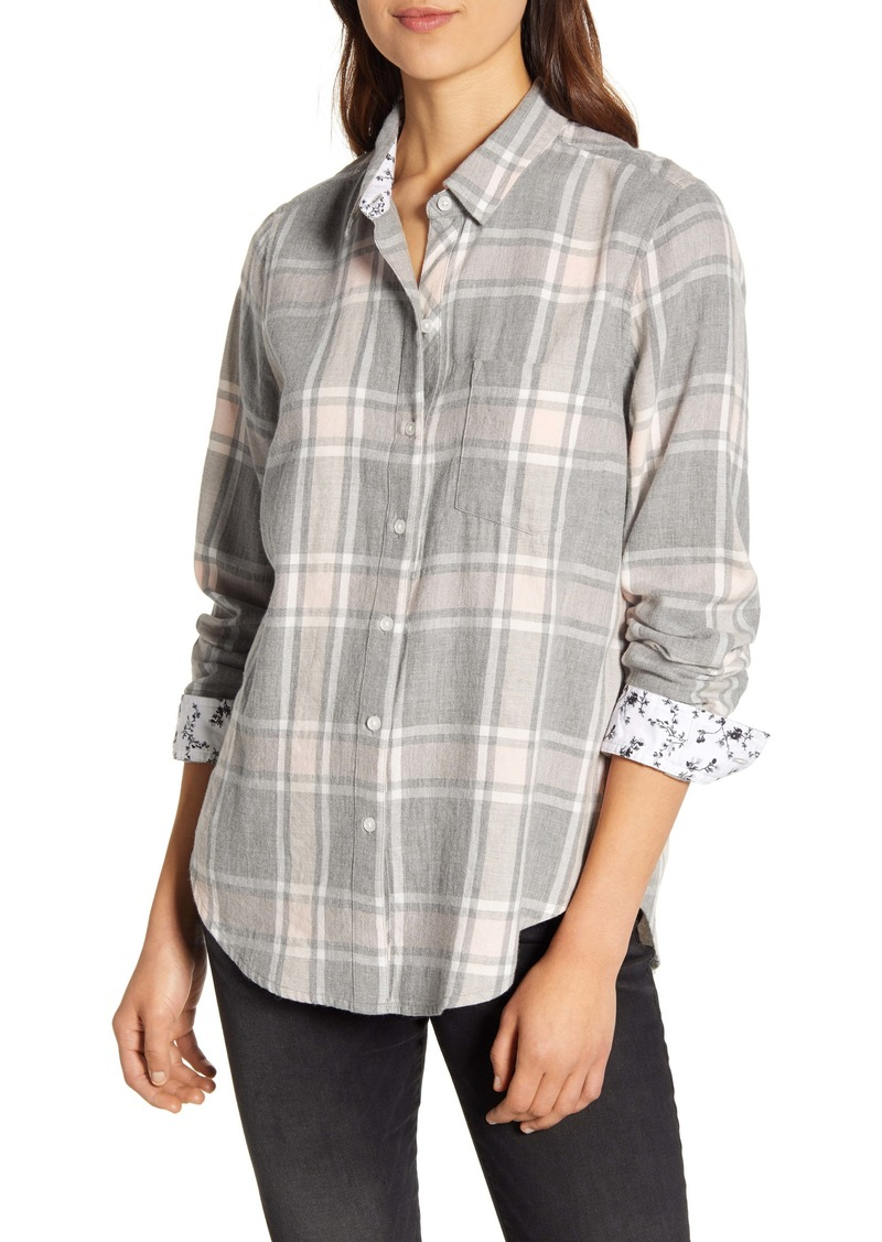 Lucky Brand Classic Plaid Shirt