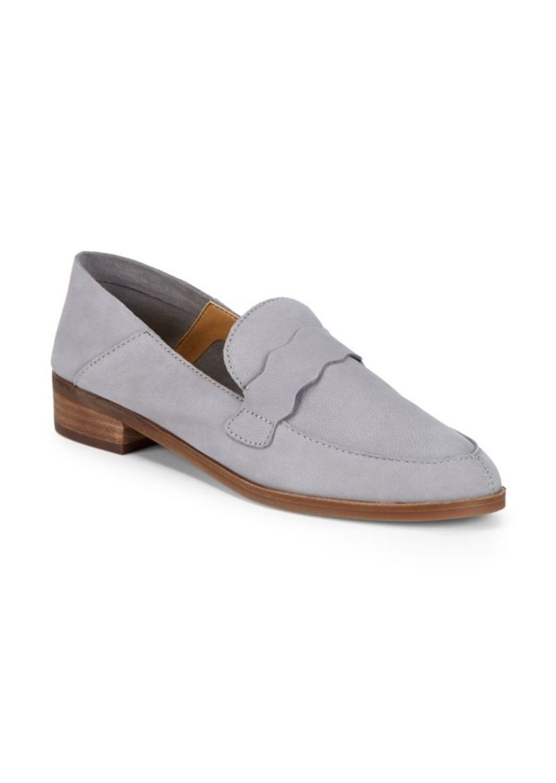Lucky Brand Claudina Stacked Heel Traditional Loafers