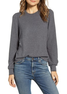 Lucky Brand Cloud Jersey Femme Sleeve Sweater