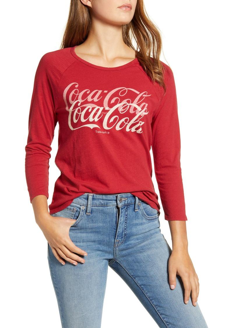 Lucky Brand Coca-Cola® Graphic Raglan Sleeve Tee
