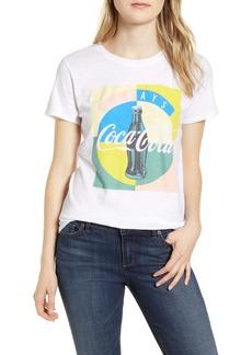Lucky Brand Coca-Cola® Multicolor Cotton Graphic Tee