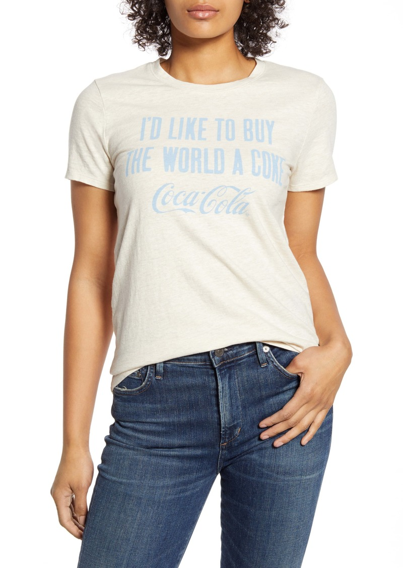 Lucky Brand Coca-Cola® Slogan Graphic Tee