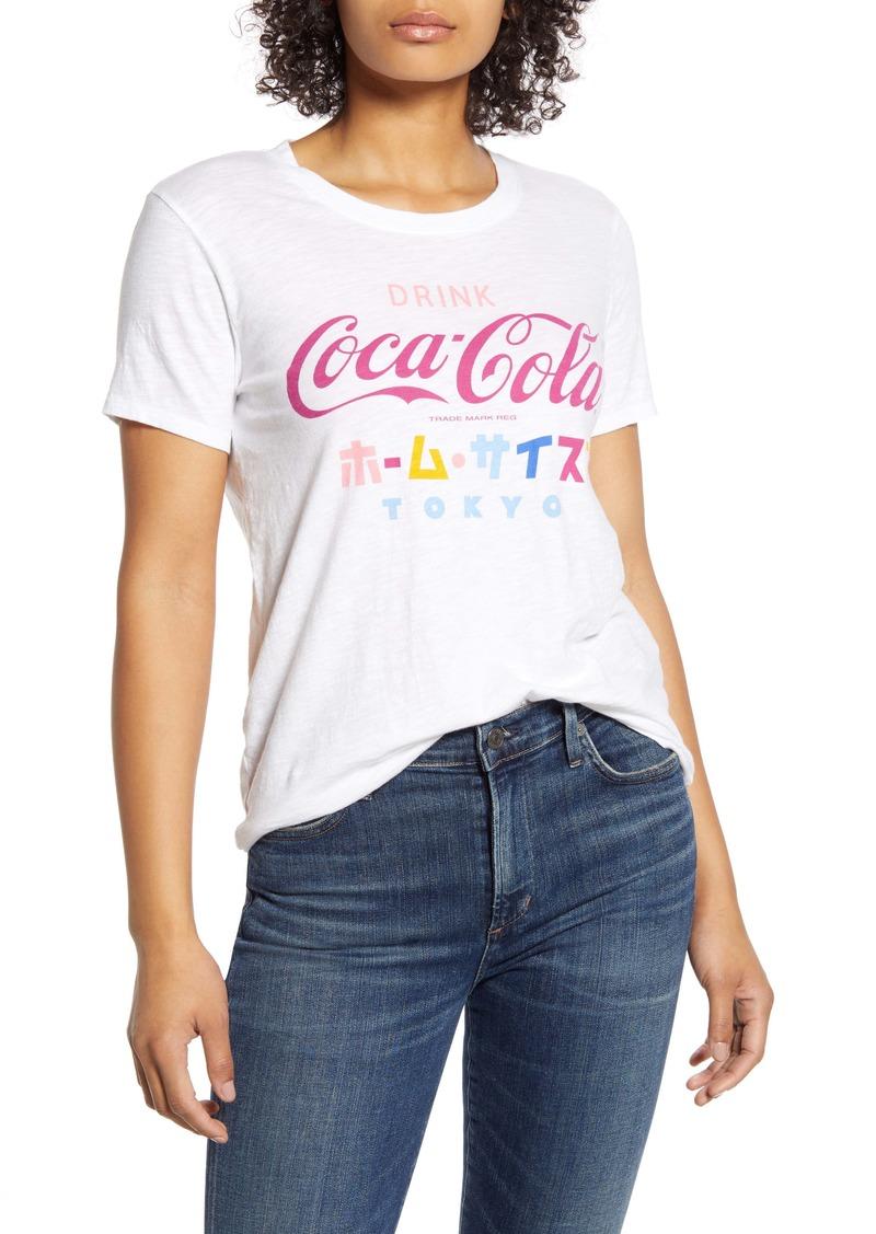 Lucky Brand Coca-Cola® Tokyo Crewneck Tee