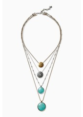 Lucky Brand Coin Meadows Necklace