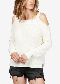 Lucky Brand Cold-Shoulder Sweater