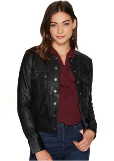 Lucky Brand Collarless Jacket