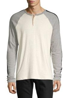 Lucky Brand Colorblock Henley Shirt