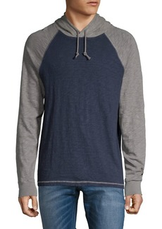 Lucky Brand Colorblock Hooded Tee