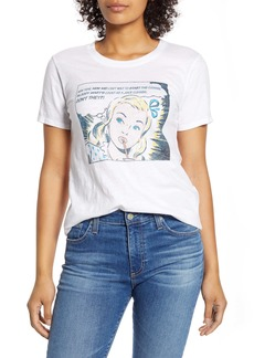 Lucky Brand Comic Graphic Tee