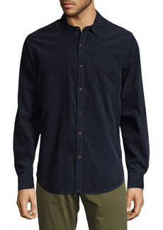 Lucky Brand Cotton Button-Down Shirt