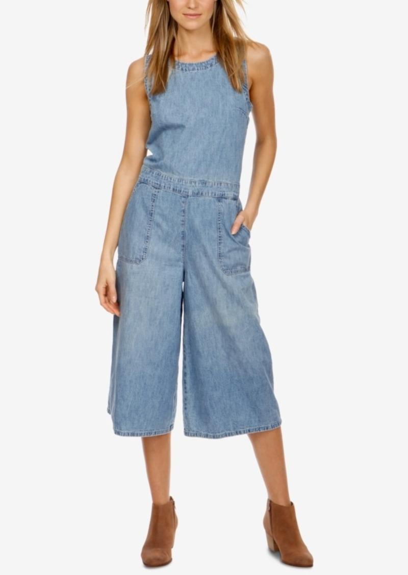 16f2ce29079 Lucky Brand Lucky Brand Cotton Denim Culotte Jumpsuit