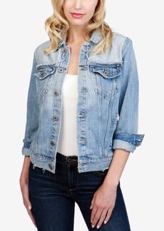 Lucky Brand Cotton Denim Trucker Jacket