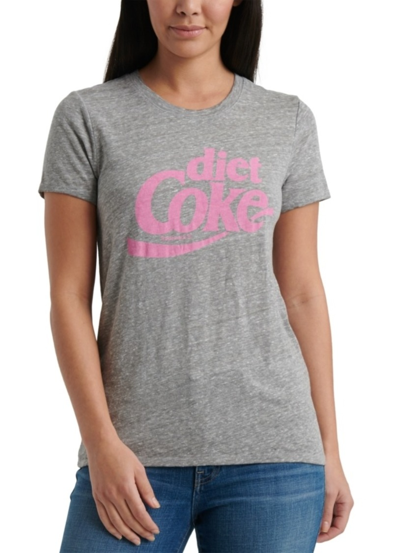 Lucky Brand Cotton Diet Coke Logo T-Shirt