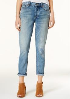 Lucky Brand Cotton Sienna Ripped Boyfriend Jeans