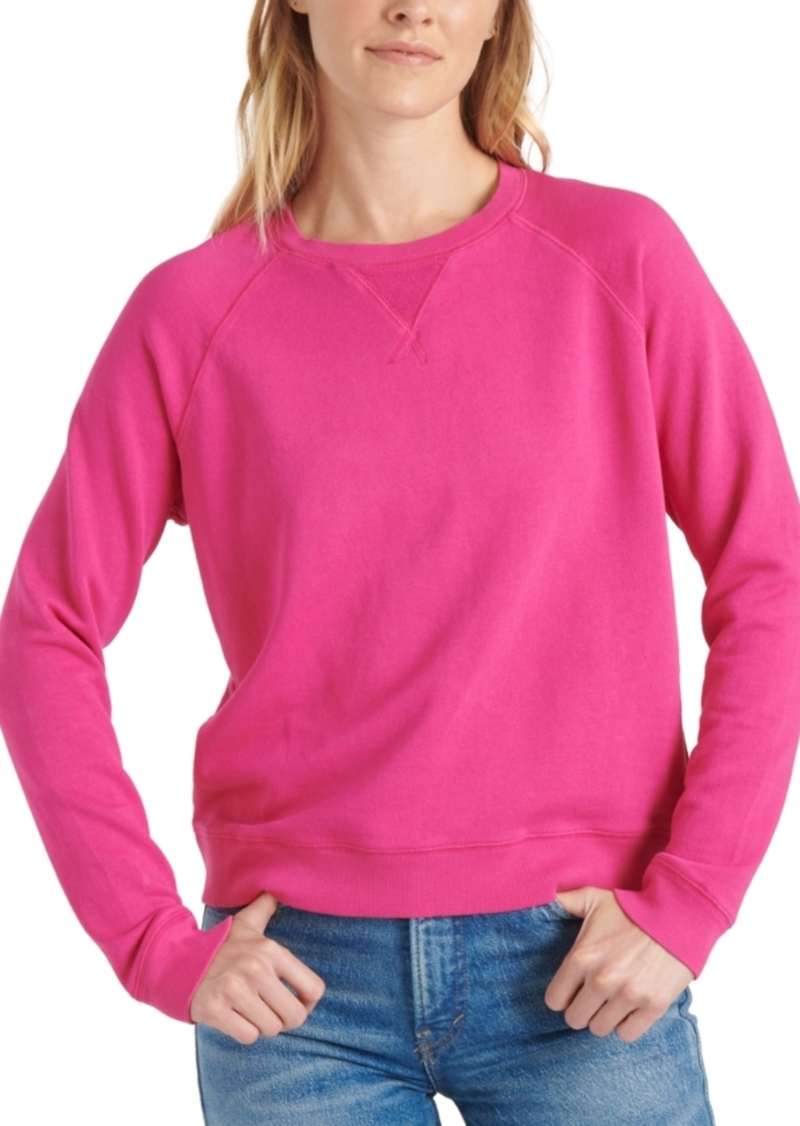 Lucky Brand Cotton Sweatshirt