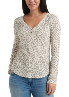 Lucky Brand Printed Thermal Top