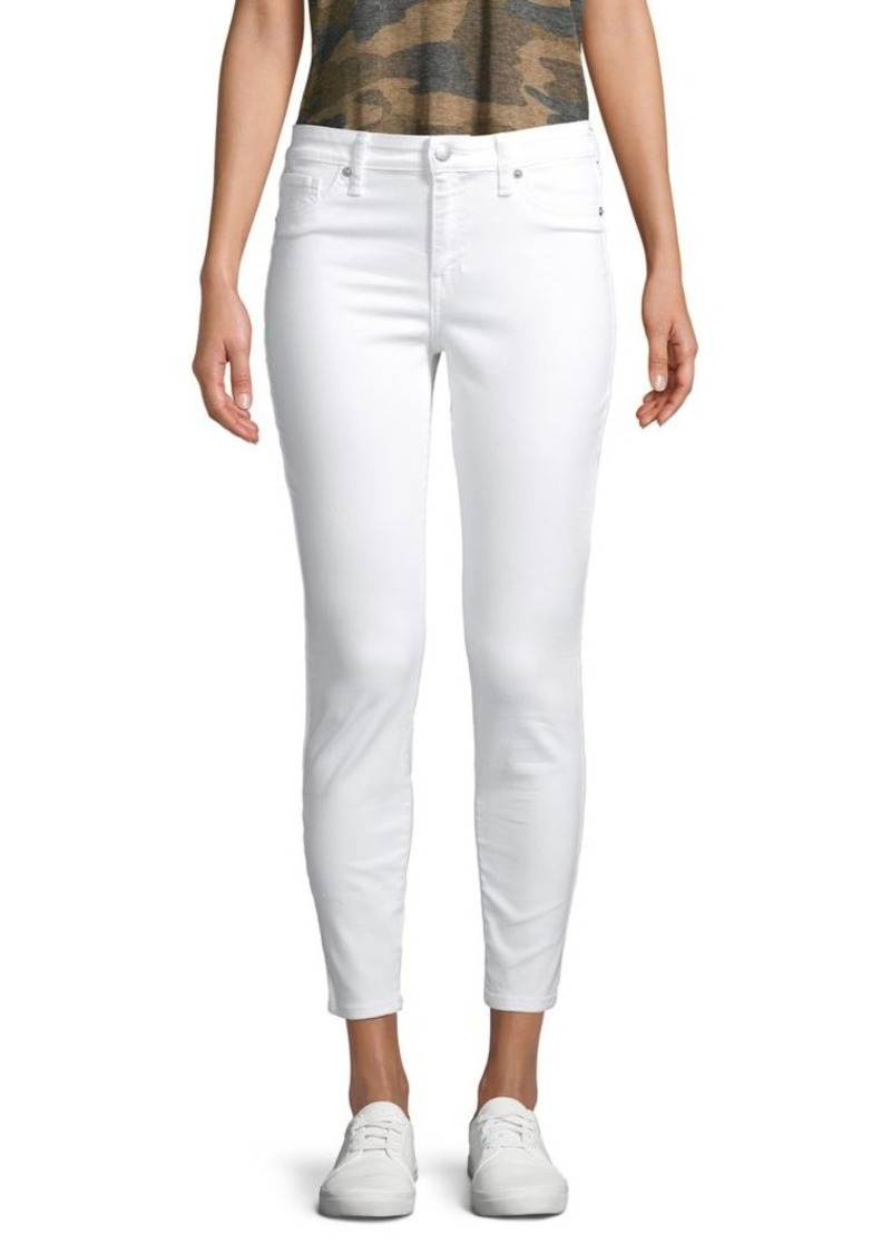 Lucky Brand Cropped Mid-Rise Jeans