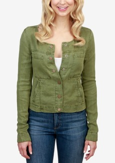 Lucky Brand Cropped Military Jacket