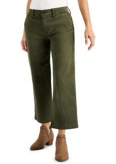 Lucky Brand Cropped Wide-Leg Jeans