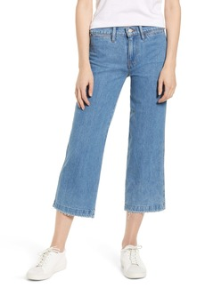 Lucky Brand Cropped Wide Leg Jeans (Flow CT)