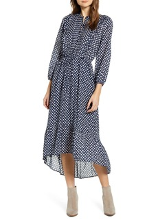 Lucky Brand Dawn Floral Long Sleeve Dress