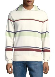 Lucky Brand Del Rio Baja Multi-Striped Hoodie