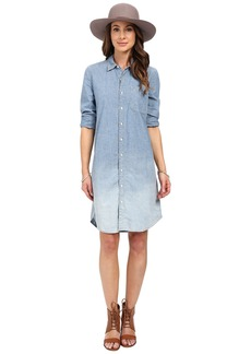 Lucky Brand Dip Dye Shirtdress
