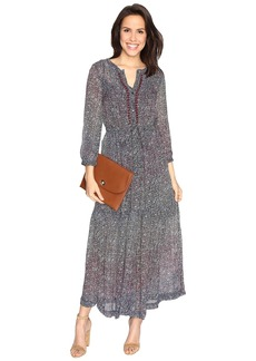 Lucky Brand Ditsy Maxi Dress