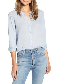 Lucky Brand Double Gauze Shirt