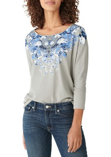 Lucky Brand Drop Shoulder Easy Fit T-Shirt