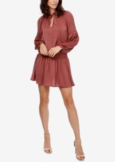 Lucky Brand Drop-Waist Choker Dress