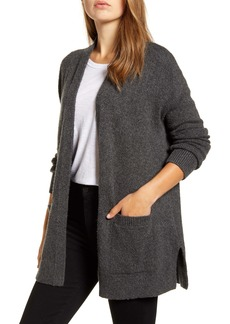 Lucky Brand Easy Open Front Long Cardigan