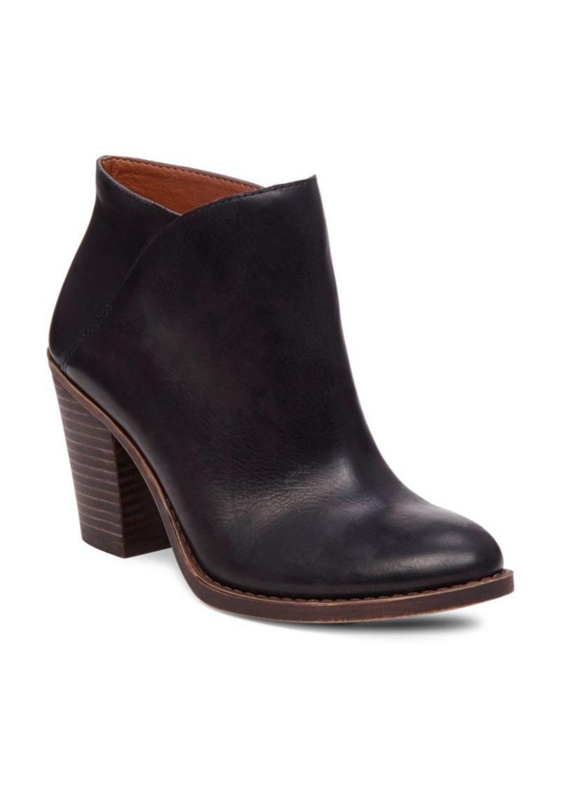 b4abdff6e62 Lucky Brand Lucky Brand EESA Leather Slip-On Ankle Boots
