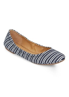 Lucky Brand Elysia Striped Ballet Flats